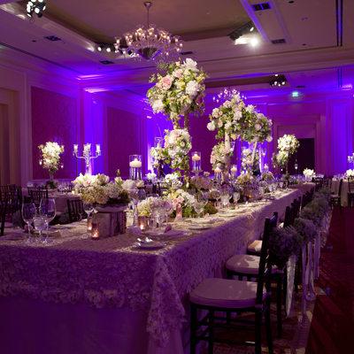 Weding Reception By DFW Events At Ritz-Carlton, Dallas