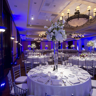 Stonebriar Country Club Wedding Reception Setup