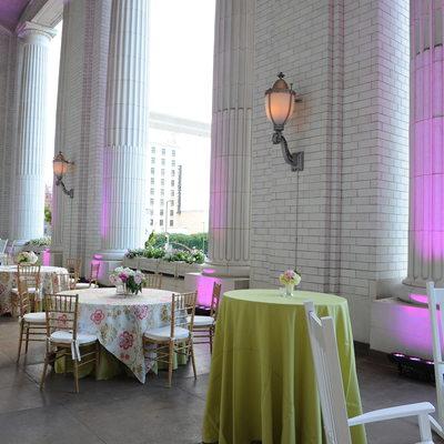 Union Station Wedding Reception Details DFW Events