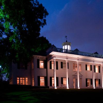 Todd Events Wedding Mt. Vernon Estate At Night