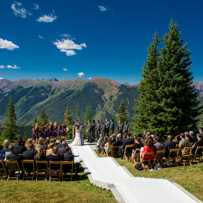 Little Nell Aspen Wedding With Gorgeous Mountain Views