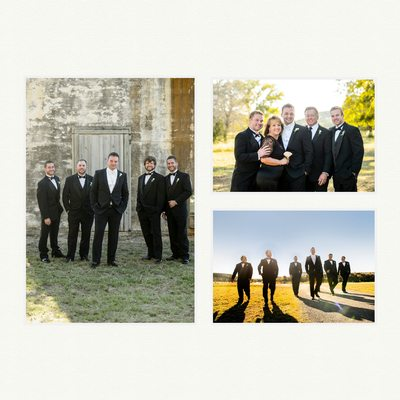 Groom Portraits At Rough Creek Wedding