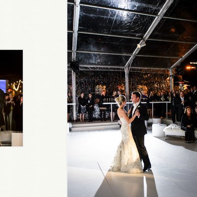 First Dance At Rough Creek Wedding DFW Events
