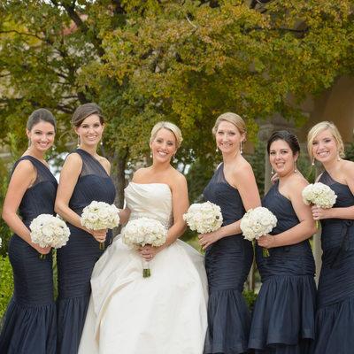 Bridal Party At Holy Trinity Greek Orthodox Church