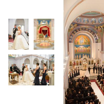 Holy Trinity Greek Orthodox Church Wedding Dallas