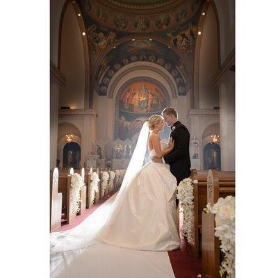 Beautiful DFW Greek Orthodox Wedding Album Photos