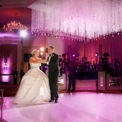 First Dance At Rtiz-Carlton Dallas Wedding Reception