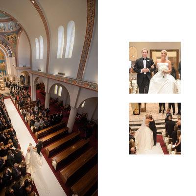 Wedding Ceremony At Holy Trinity Greek Orthodox