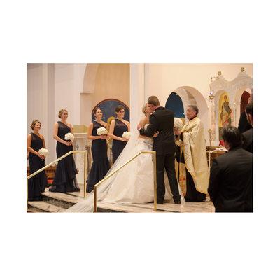 Wedding Ends At Holy Trinity Greek Orthodox Dallas