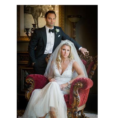Bride & Groom Captured Before Hotel ZaZa Dallas Wedding