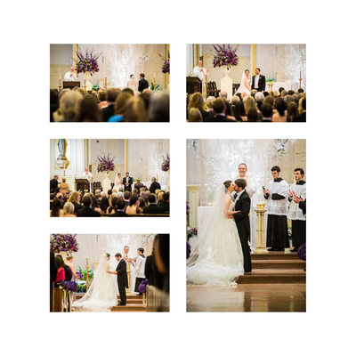 Dallas Catholic Wedding At Holy Trinity Church