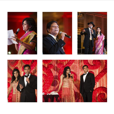 Hilton Anatole Indian Wedding Reception Toasts