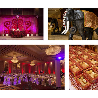 Indian Wedding Reception Dallas Anatole