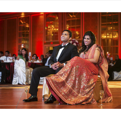 South Asian Wedding Reception At Anatole
