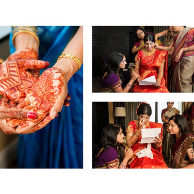 indian Bride & Mother At Anatole Wedding Dallas