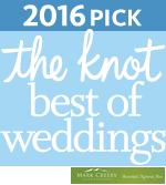 2016 The Knot Best of Weddings winner