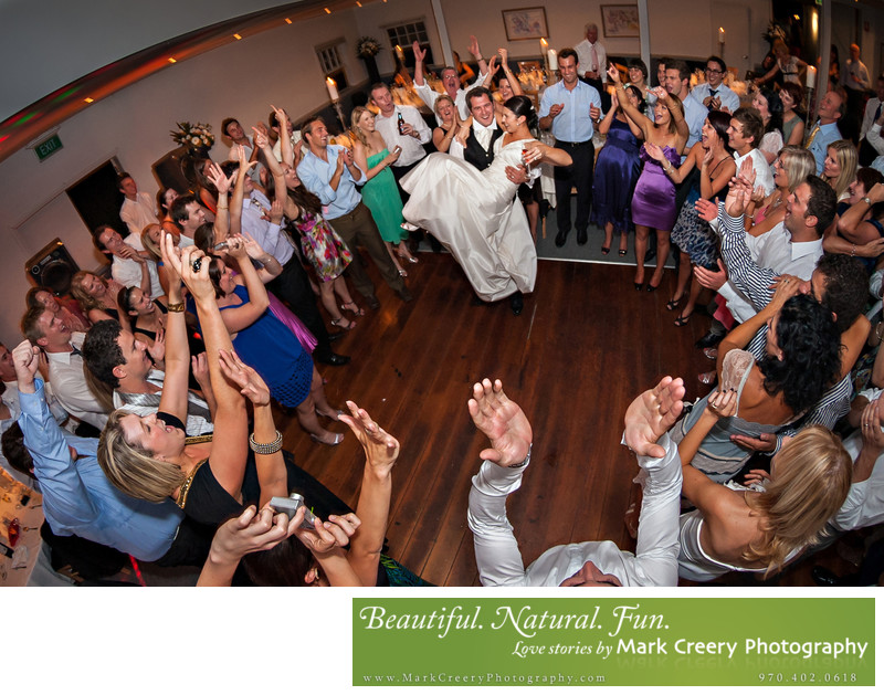 Fort Collins wedding reception photos