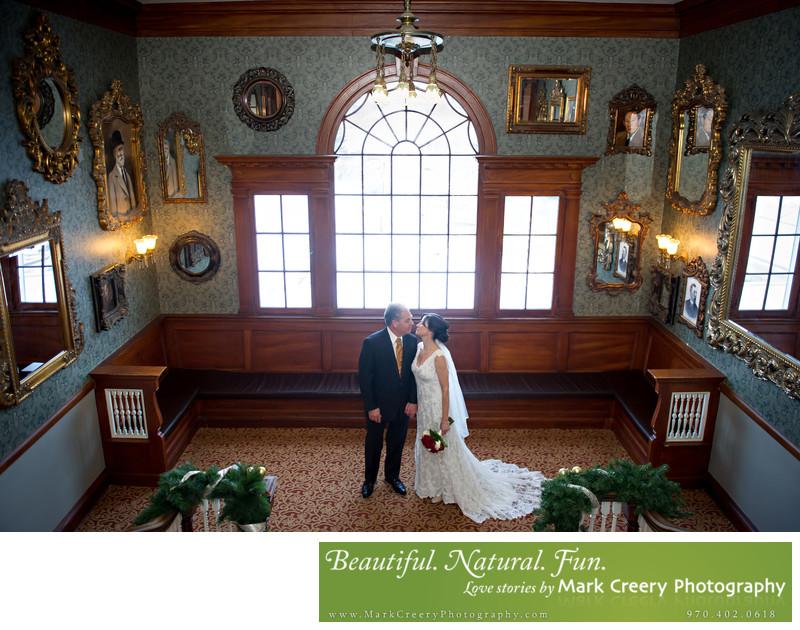 Stanley Hotel wedding photography