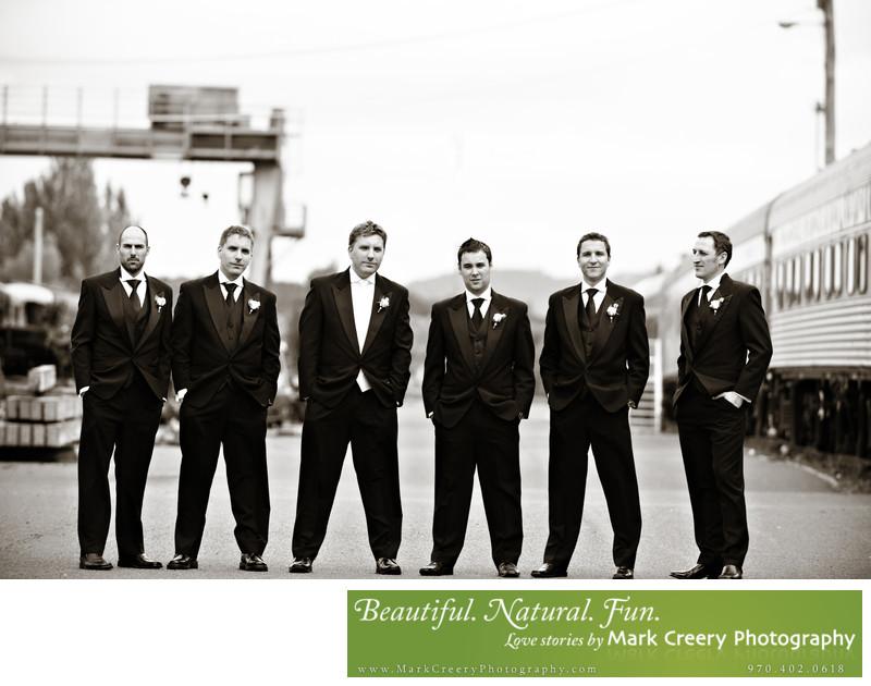 Hip Denver wedding photographer