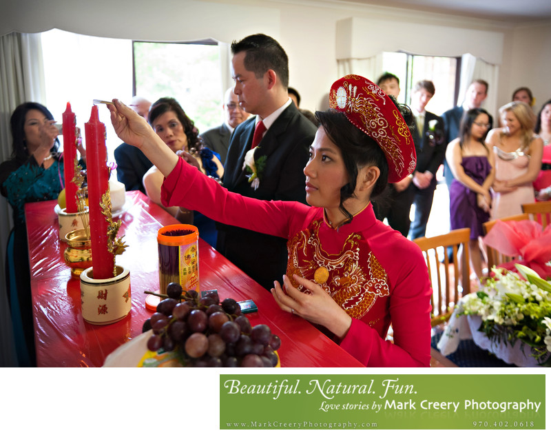 Vietnamese wedding photography Denver Colorado