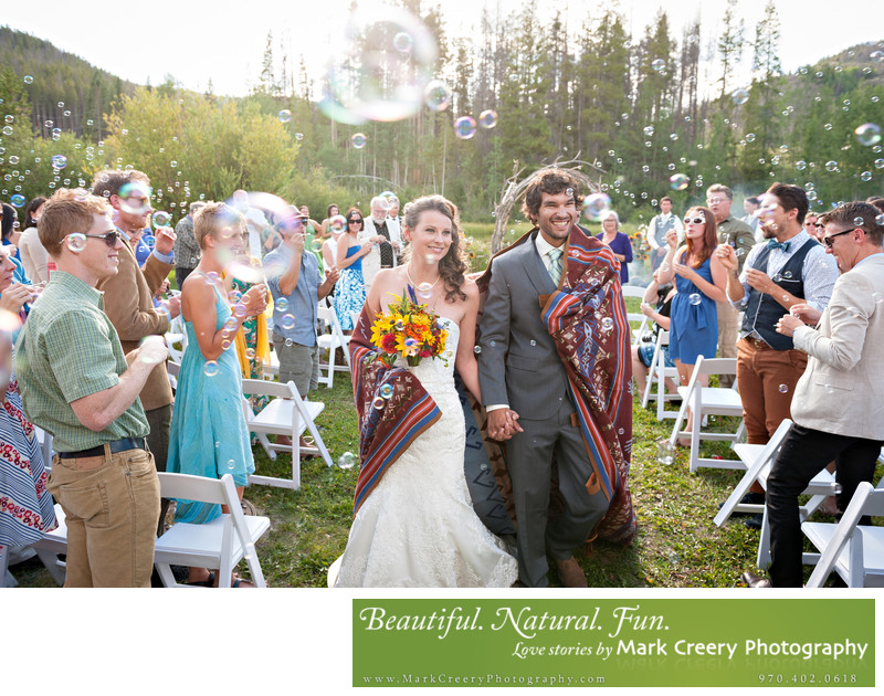 Wedding photographer for Snowy Range Lodge Wyoming