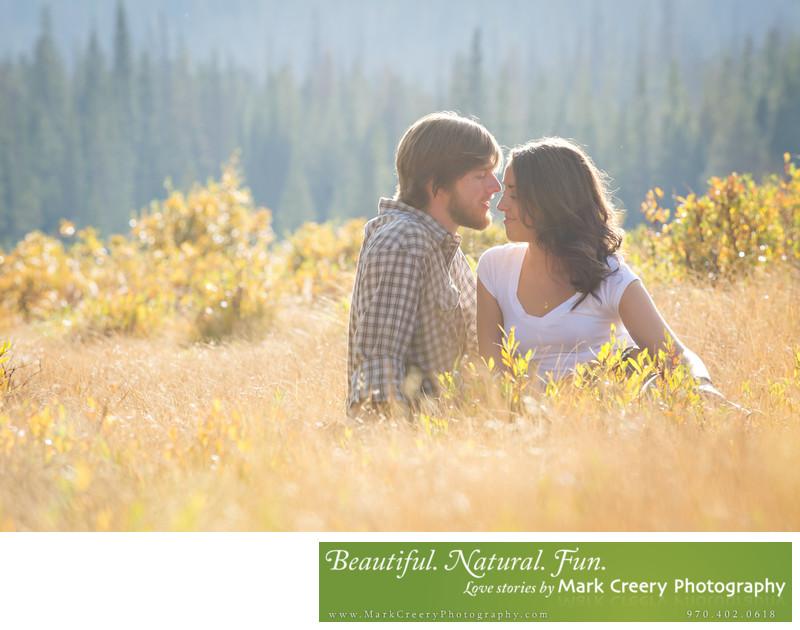 Estes Park engagement photography