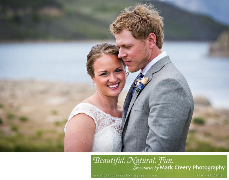 Lake Dillon Colorado wedding photos