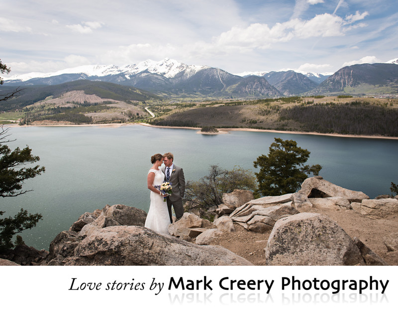 Wedding photographer for Sapphire Point in Breckenridge
