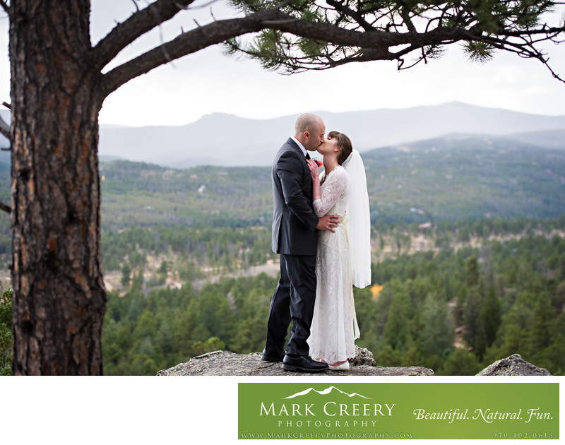 Estes Park elopement photography
