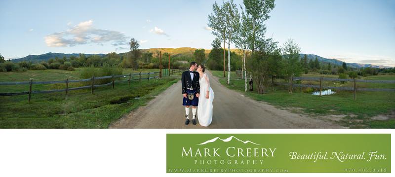 Perry Mansfield wedding photos