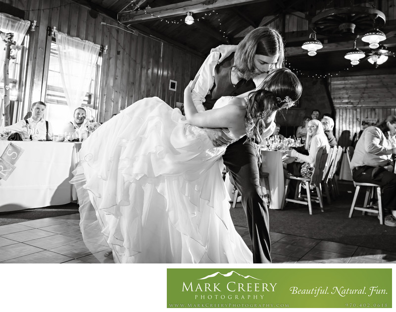 wedding photography at the Briarwood Inn in Golden