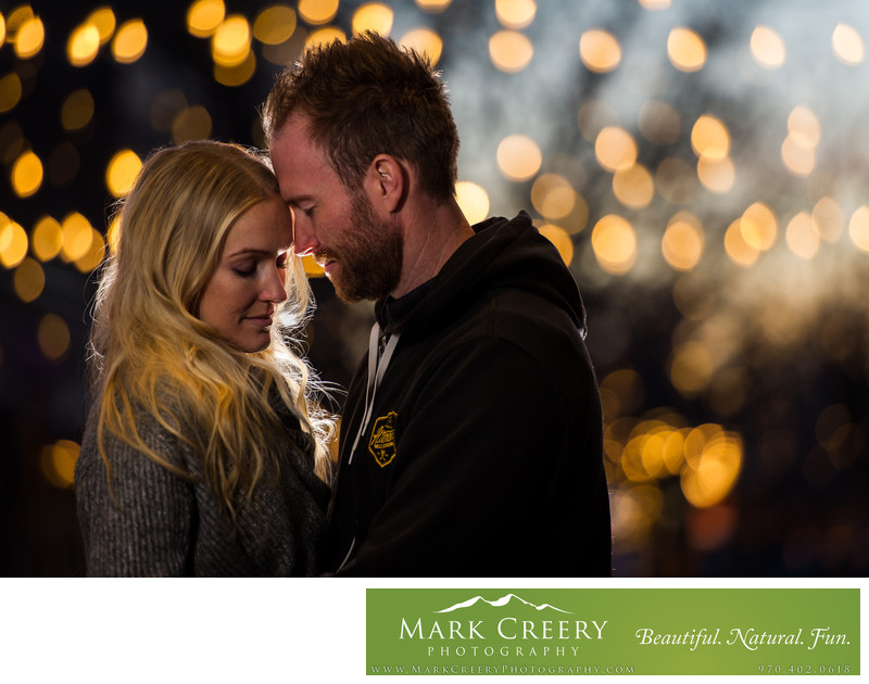 Downtown Fort Collins engagement photography