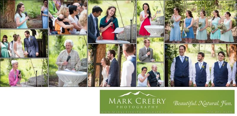 Wedding ceremony readings Della Terra wedding