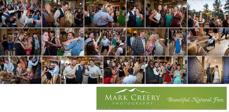 Wild dance party at Della Terra wedding reception