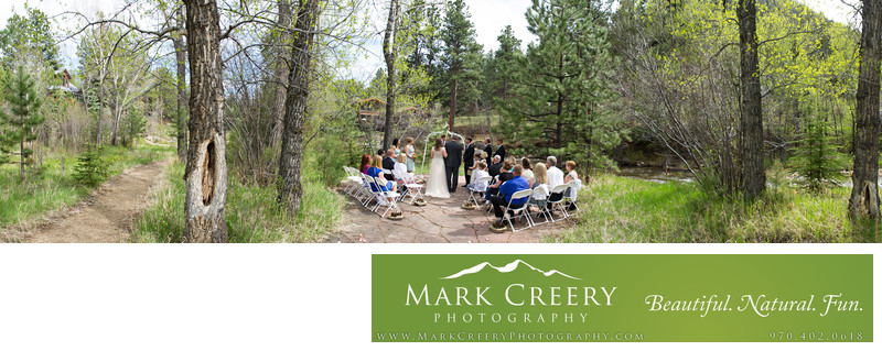 Fall River Lodge ceremony panorama