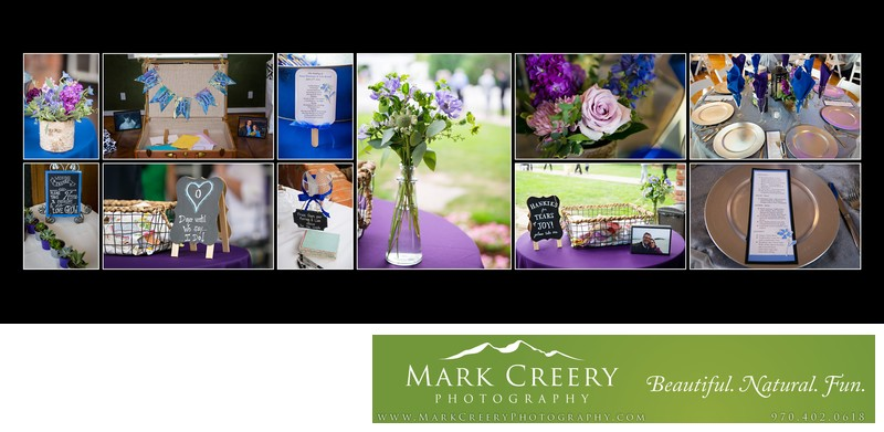 Wedding details at Lionsgate Event Center Gatehouse