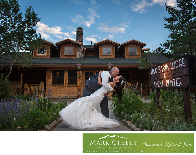 Wild Basin Lodge wedding photography Allenspark