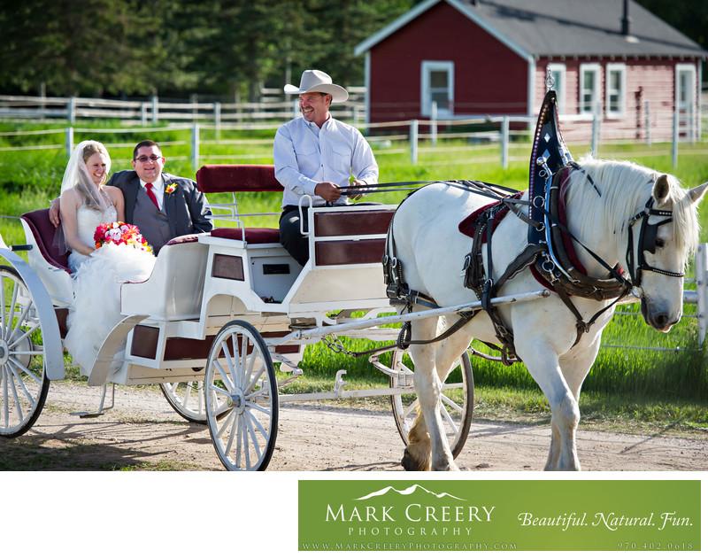 Wyoming Hereford Ranch wedding