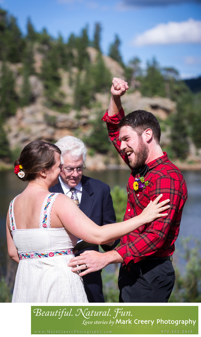 Rocky Mountain wedding photographer in Colorado