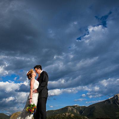 Natural Colorado wedding photographers