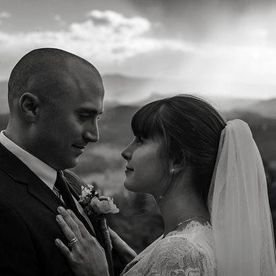 Elopement photographer in Estes Park