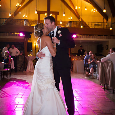 First Dance at Della Terra wedding reception