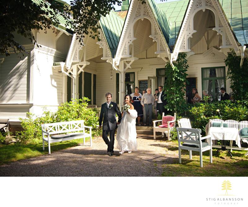 Bröllop på Villa Sjötorp, Ljungskile