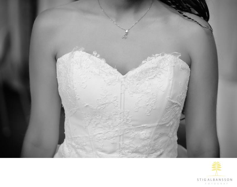 Brudklänning Nääs slott