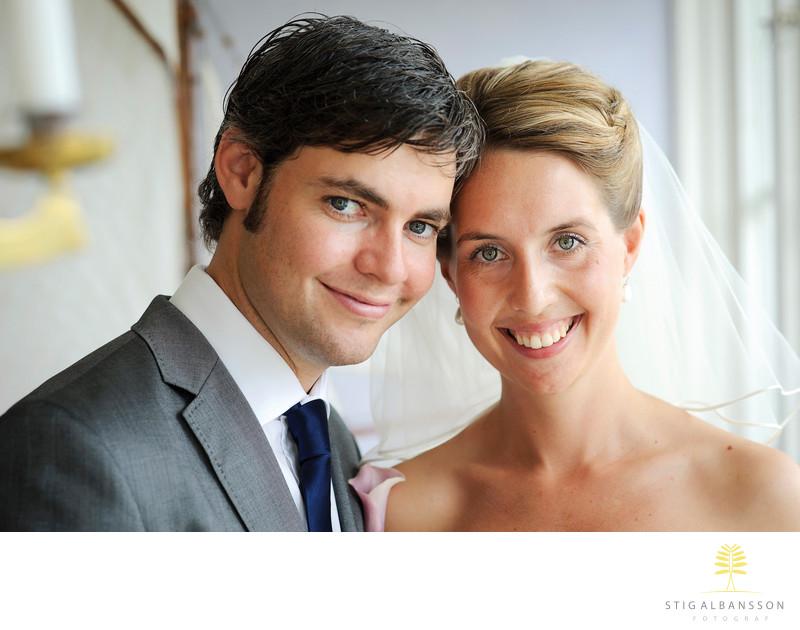 Svensk-Australiskt bröllop på Marstrand