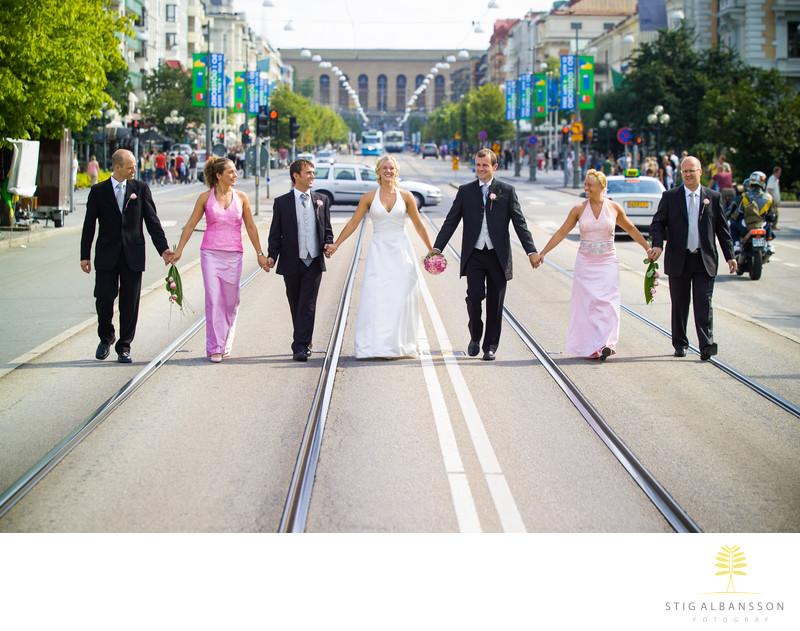 Bröllopsfotografer i Göteborg finns det många..