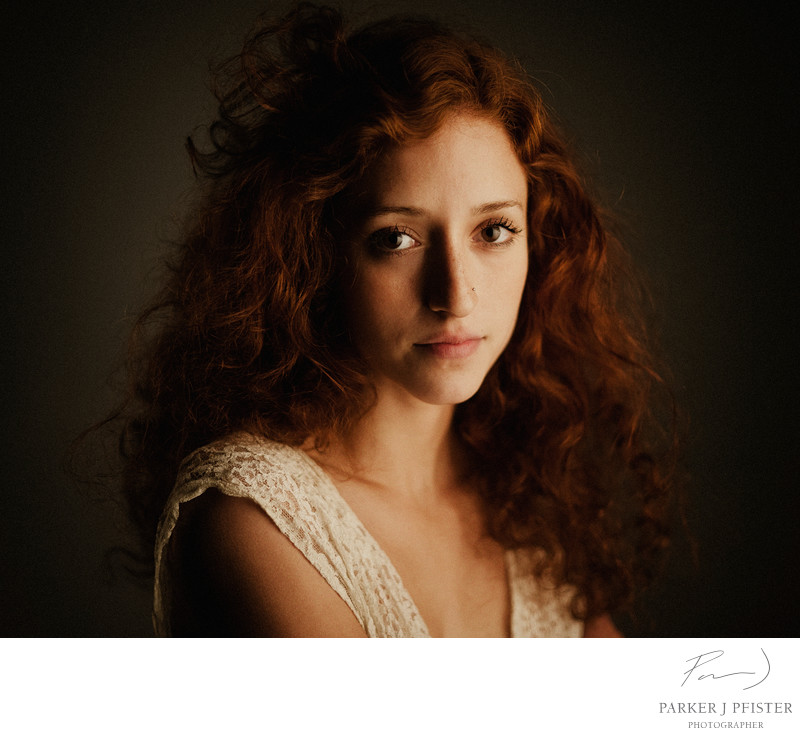 Red Head Portrait Photography
