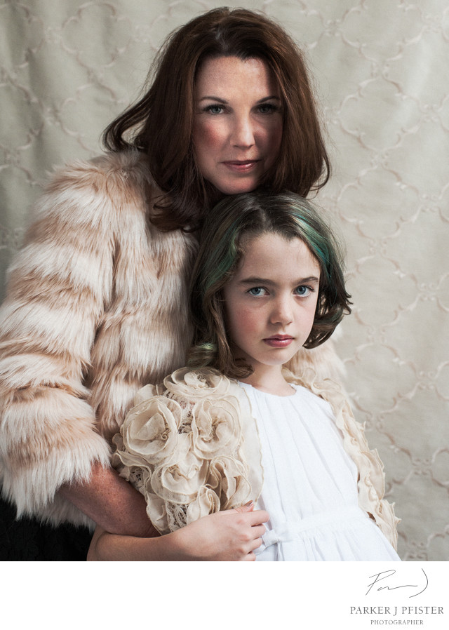 Asheville Mother and Daughter Portraits