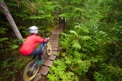 Action Sports Photography in the Whistler Bike Park