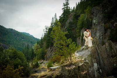 Eloping in Whistler, Canada in summer